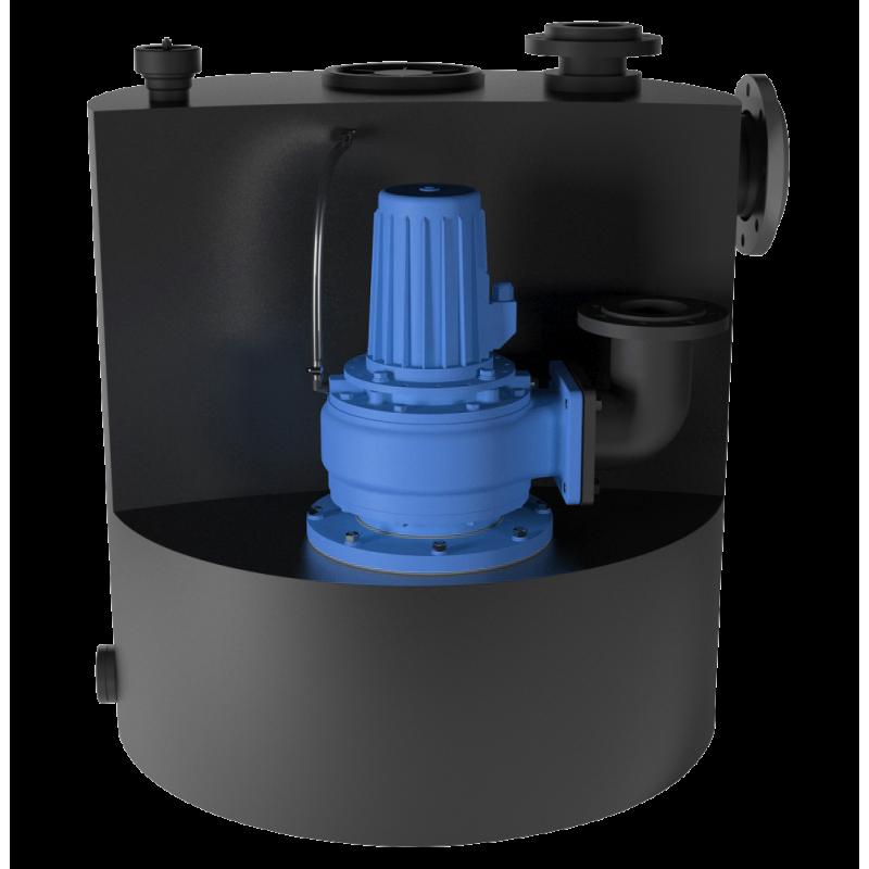 SFA Sanicubic 1 SC vuilwater opvoerinstallatie