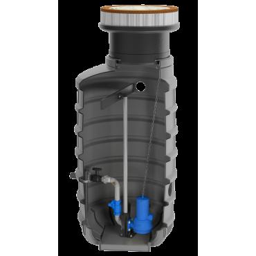 SFA sanibroyeur Sanifos 1600-2100-3100 ondergrondse vuilwater opvoerinstallatie 1 pomp