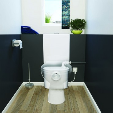 SFA sanibroyeur X2 up broyeur derrière WC