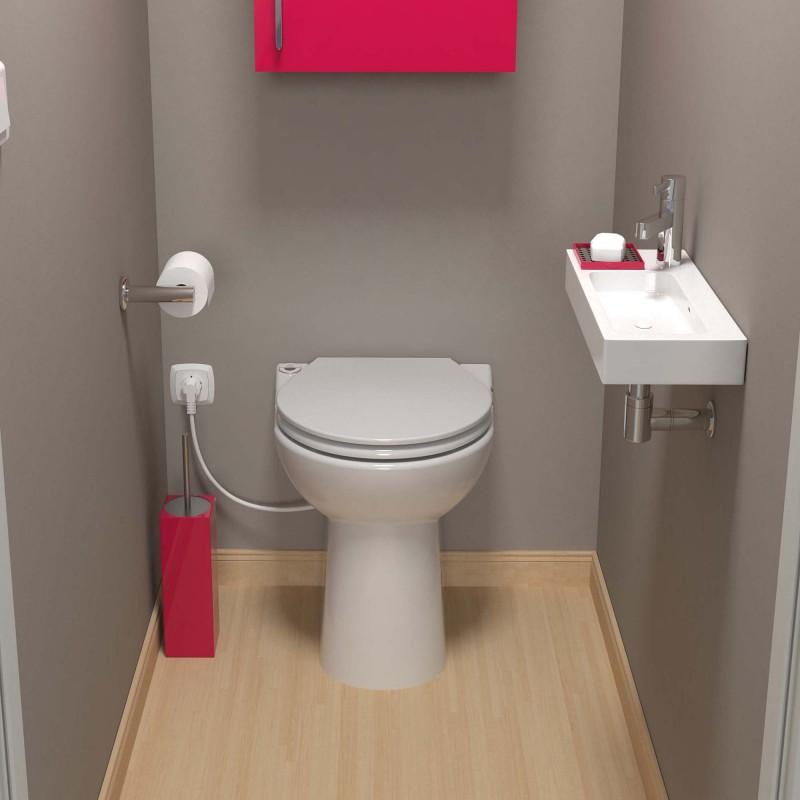 SFA sanicompact C43 toilet met fecaliënvermaler