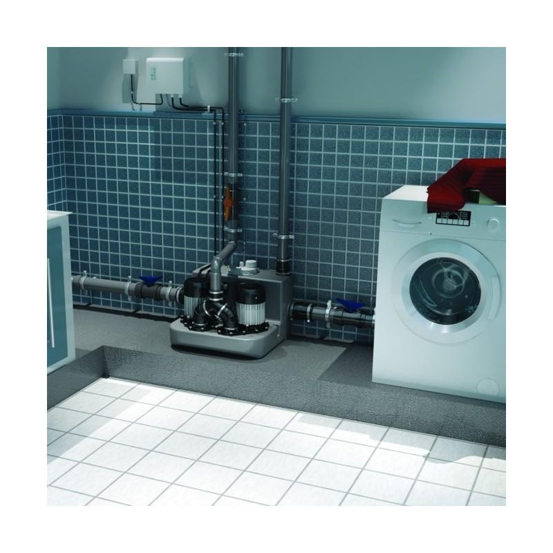 SFA sanibroyeur sanicom2 station de relevage eaux grises