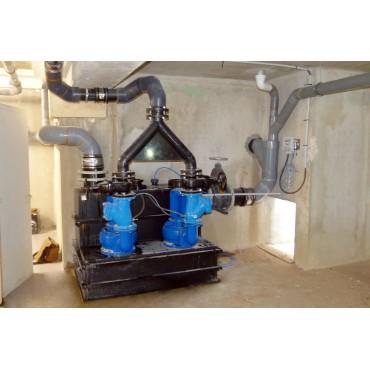 SFA Sanibroyeur Sanicubic 2 SC vuilwater opvoerinstallatie
