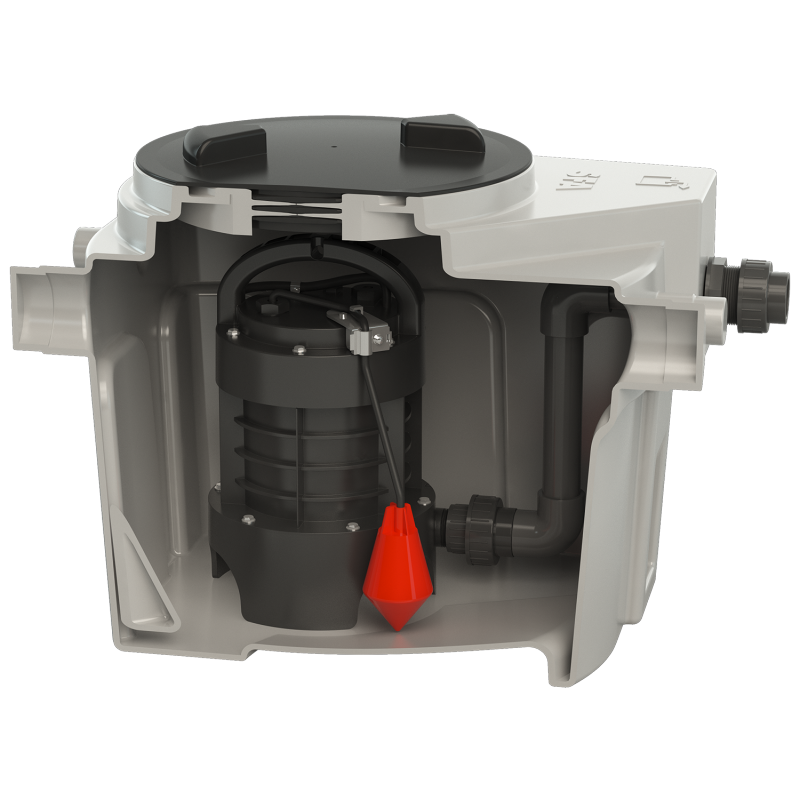 SFA sanibroyeur sanifos 110 vuilwater opvoerinstallatie