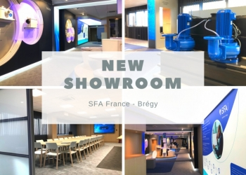 Nieuwe showroom - SFA France